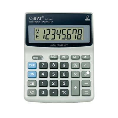 orpat 1808, m.no.1808, M.no.1808, orpat 1808, orpat calculators, orpat calculator, calculator, scientific calculator, check and correct calculator, basic calculator, wholesale calculator, calculators in tamilnadu, calculators in madurai, wholesale calculators in madurai, wholesale calculators in tamilnadu