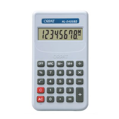orpat hl-0408, m.no.hl-0408, M.no.hl-0408, orpat hl-0408, orpat calculators, orpat calculator, calculator, scientific calculator, check and correct calculator, basic calculator, wholesale calculator, calculators in tamilnadu, calculators in madurai, wholesale calculators in madurai, wholesale calculators in tamilnadu