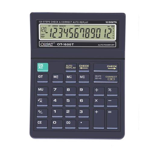 orpat ot-1600 t, m.no.ot-1600 t, M.no.ot-1600 t, orpat ot-1600 t, orpat calculators, orpat calculator, calculator, scientific calculator, check and correct calculator, basic calculator, wholesale calculator, calculators in tamilnadu, calculators in madurai, wholesale calculators in madurai, wholesale calculators in tamilnadu