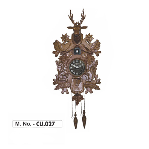 cuckoo clocks, cuckoo clock, 027, m.no.027, m.no 027, wooden wallclocks, wooden wallclock, ajanta clocks, ajanta wallclock, ajanta cuckoo clocks, ajanta cuckoo clock, wholesale wallclock, wholesale wallclocks,
