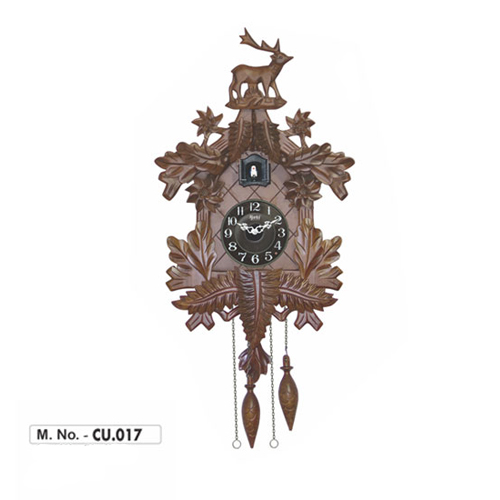 cuckoo clocks, cuckoo clock, 017, m.no.017, m.no 017, wooden wallclocks, wooden wallclock, ajanta clocks, ajanta wallclock, ajanta cuckoo clocks, ajanta cuckoo clock, wholesale wallclock, wholesale wallclocks,